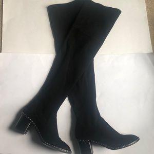 11f56188eca rag   bone Shoes - Rag and bone Rina Over the Knee Boots Black 39.5